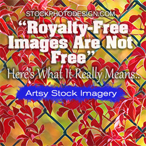 Royalty-Free Images are not free as people think