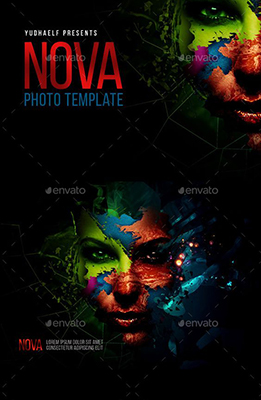 Nova Artistic Photoshop Effect