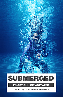 Submerged Photoshop Effect