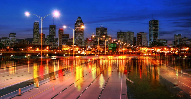 Montreal City Urban Montage 04 - Royalty-Free Stock Imagery