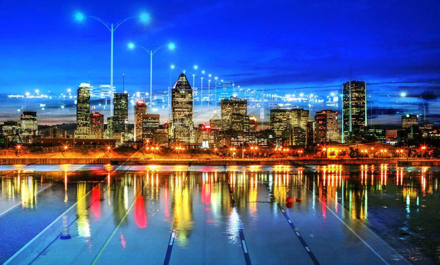 Montreal City Urban Montage 06
