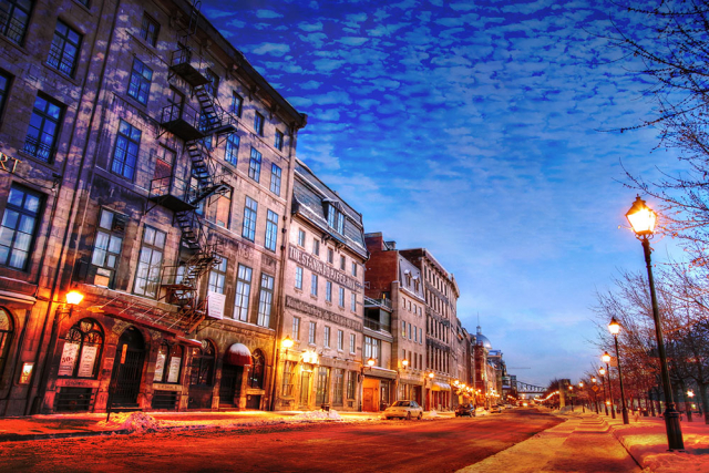 Old Montreal City 01 - Royalty-Free Stock Imagery