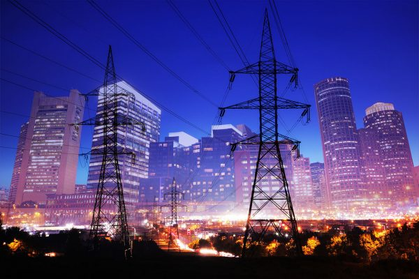 Urban Energy 2 - Stock Image
