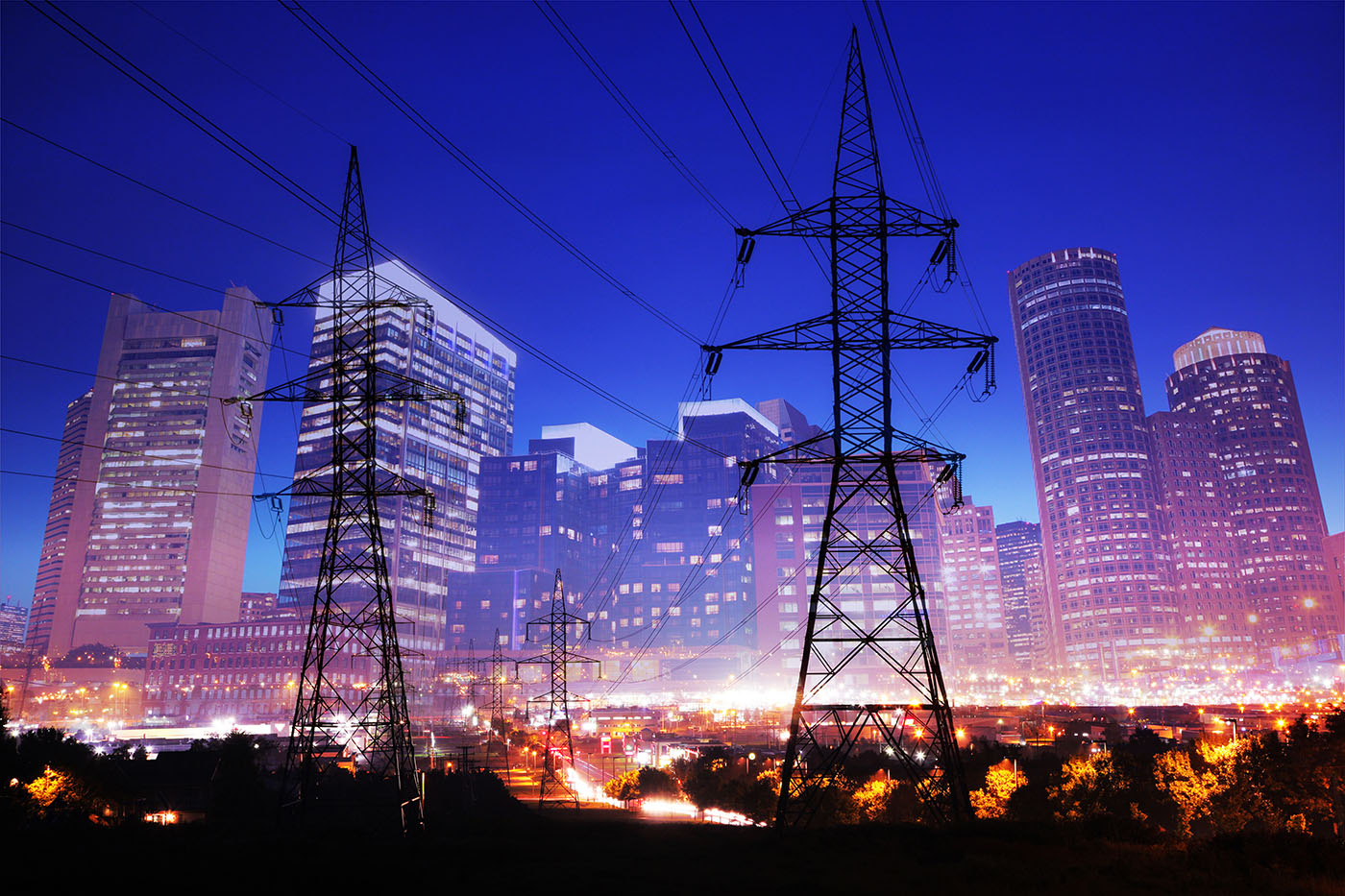 Urban Energy 2 - Royalty-Free Stock Imagery