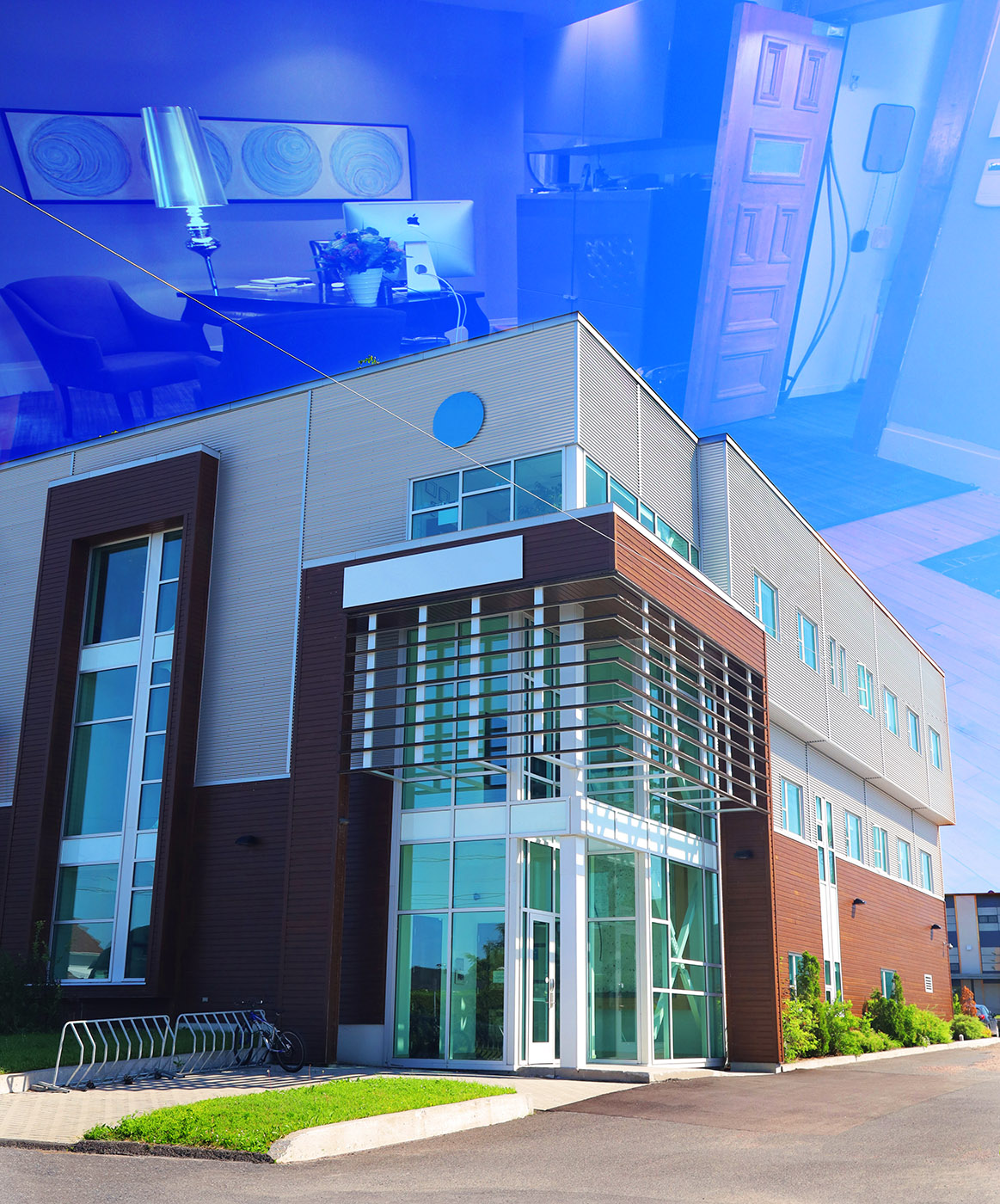 Modern Office Building - Royalty-Free Stock Imagery