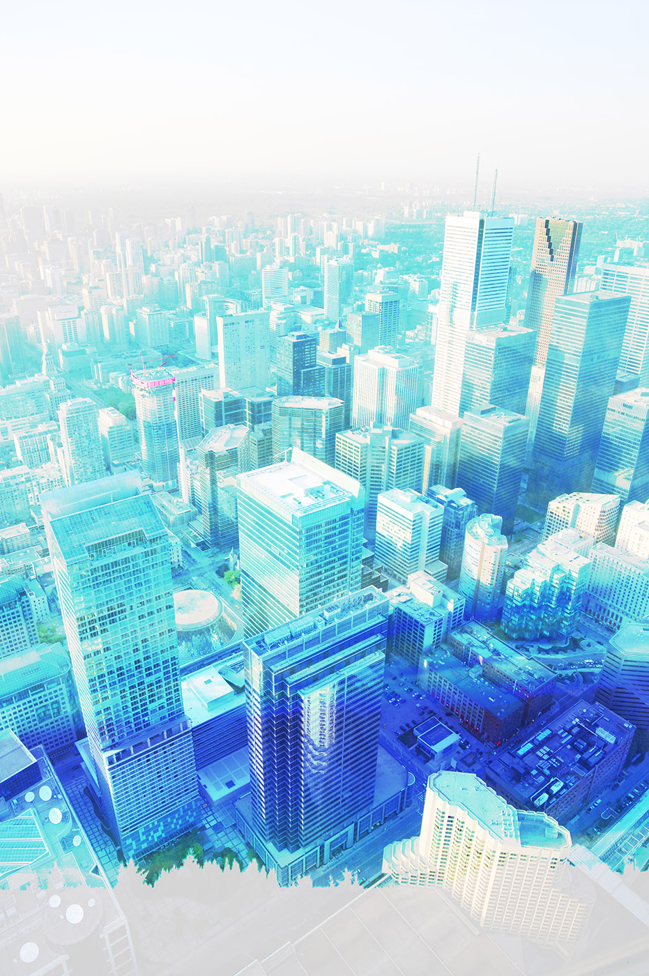 Urban Vertical Cityscape - Royalty-Free Stock Imagery