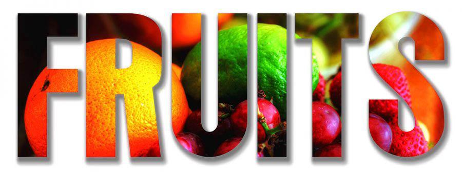 Fruits Text 1
