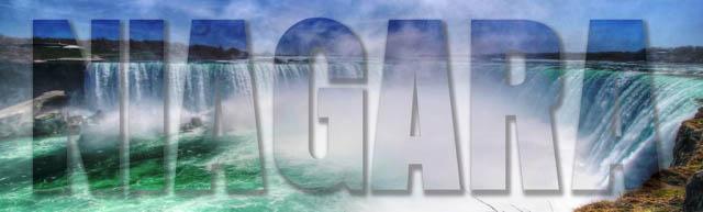Niagara Text 1 - Royalty-Free Stock Imagery