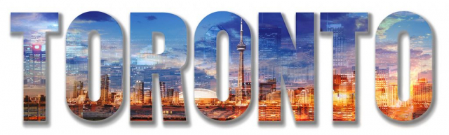 Toronto Text 1 - Royalty-Free Stock Imagery