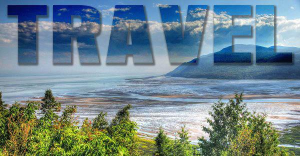 Travel Text on Landscape 1