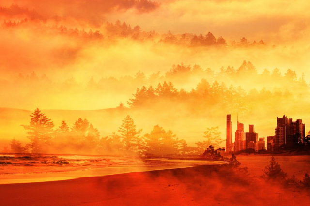Colorful Apocalyptic Imagery 05 - Royalty-Free Stock Imagery