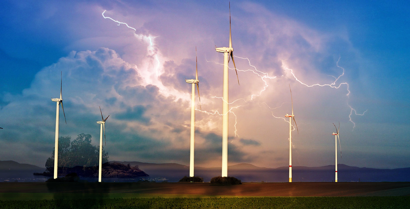 Windmill Energy Production 01 - Royalty-Free Stock Imagery