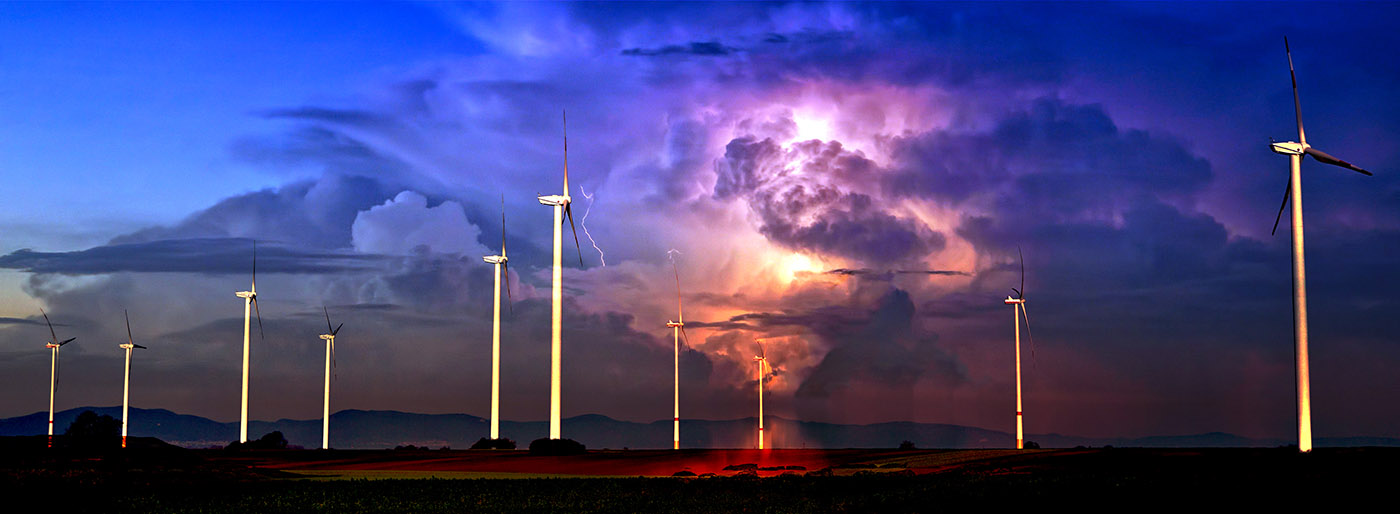 Windmill Energy Production 02 - Royalty-Free Stock Imagery