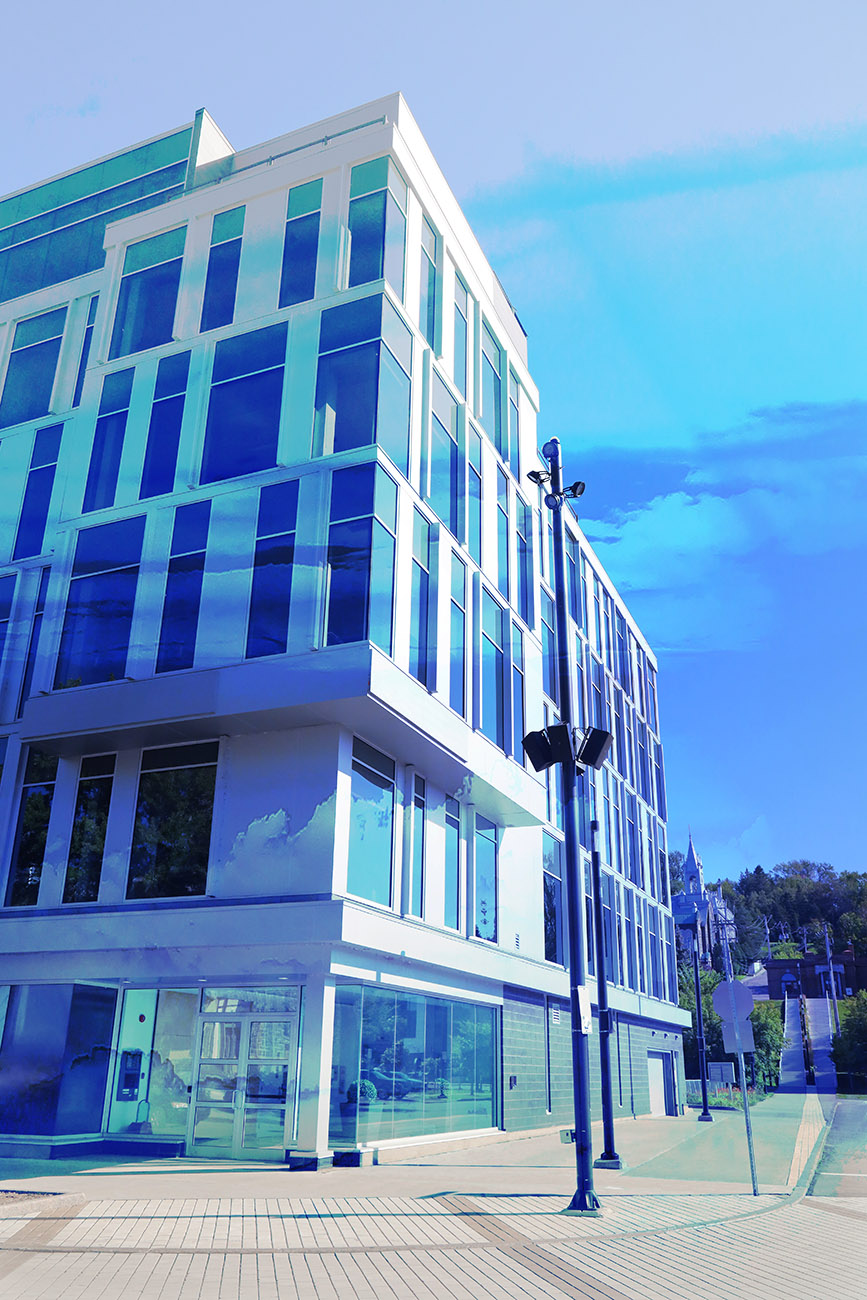 Street Corner Office Building 01 - Royalty-Free Stock Imagery